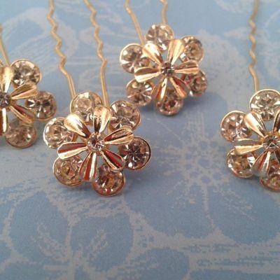 Horquilla flor 6 petalos