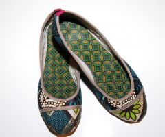 Bailarinas africanas Batik Verdes