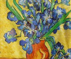 Copia Jarrón con Lirios Van Gogh 60x50