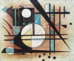 Copia Abstracto Kandinsky 60x50