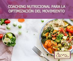 Coaching Nutricional para la optimización del movimiento