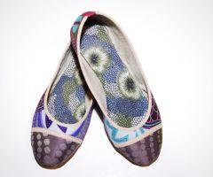Bailarinas Africanas Batik Lilas