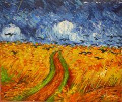 Copia Paisaje Van Gogh 2 60x50