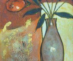 Jarrón con Flores 1 30x60