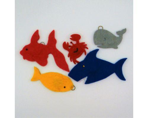 Animales marinos magnéticos (tamaño variable)