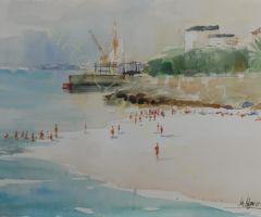 Playa de Penedos - Chapela 51x36