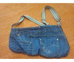 Bolso vaquero azul