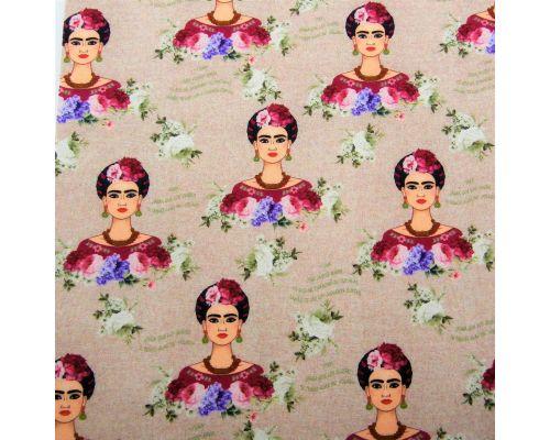 Libro Sensorial Hecho. Frida Kahlo.