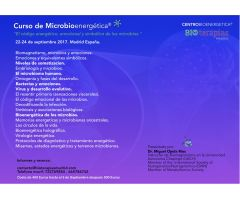 Curso Multimedia de MICROBIOENERGÉTICA Madrid