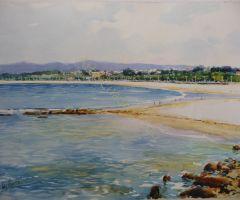 Playa de Samil y Lagares