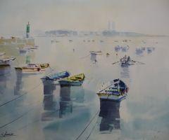 Barcas y Toralla