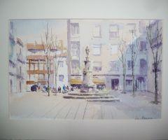 Plaza de la Princesa - Vigo