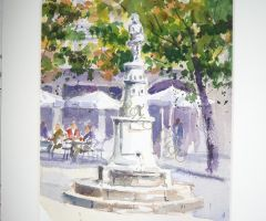 Fuente del Angelote - Plaza de la Princesa