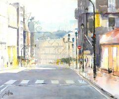 Rúa Policarpo Sanz - Vigo (75x55)