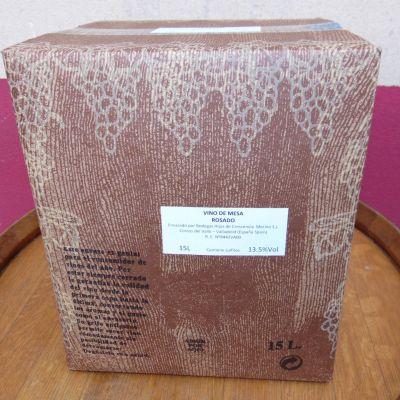 BODEGA CATAJARROS box 15l AÑO 2020