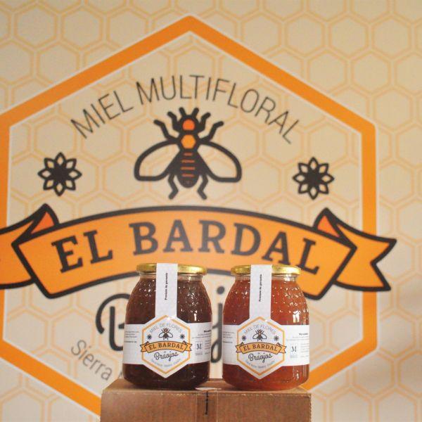 Caja de 2 tarros de miel de 1K