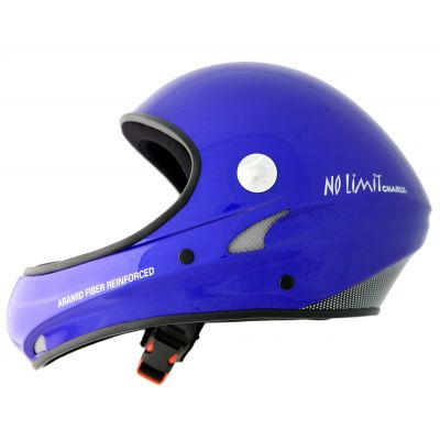 Casco Integral Charly No Limit Azul / Gris