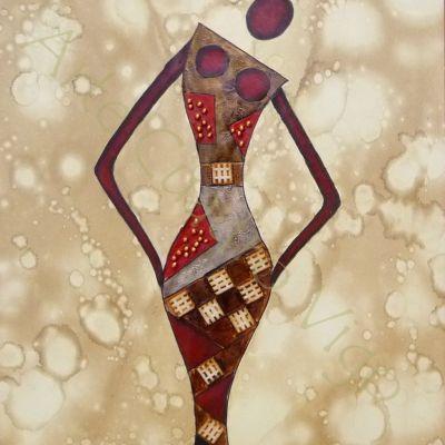 Chica Africana 60x50