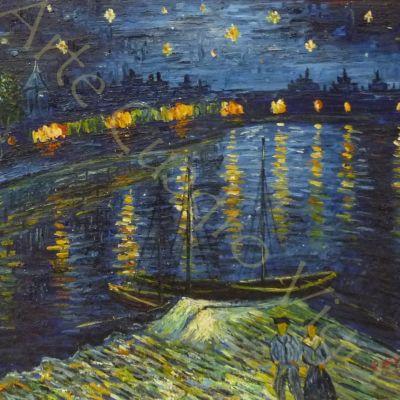 Copia Noche Estrellada Van Gogh 60x50