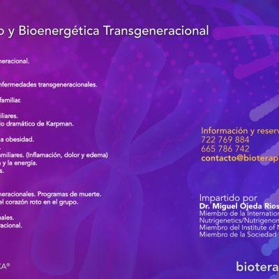 Curso de «Biomagnetismo y Bioenergética Transgeneracional»