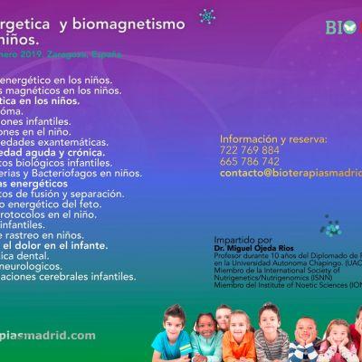 Curso de «Biomagnetismo y Bioenergética de los niños»