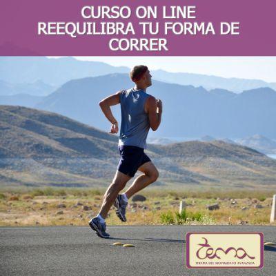 Curso on line Reequilibra tu forma de correr