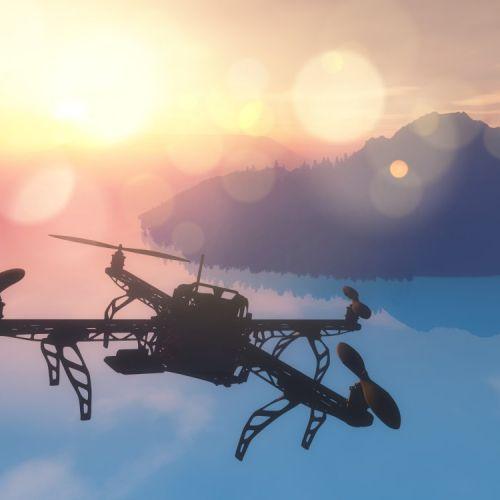 Imágenes aéreas mediante dron incluso en interiores