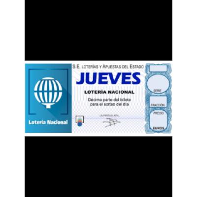 Lotería Nacional Jueves