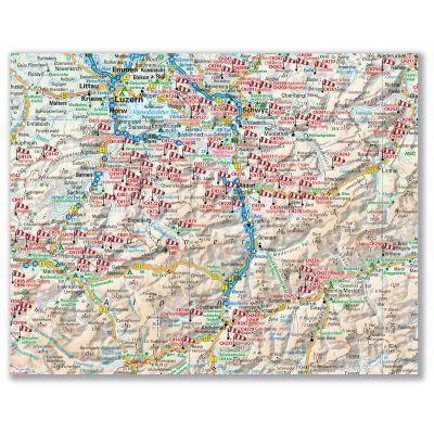 Mapas Zonas de vuelo en Los Alpes