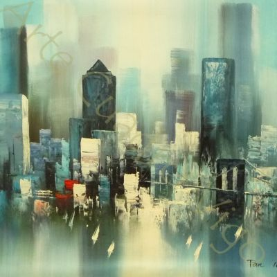 Paisaje de New York 60x50