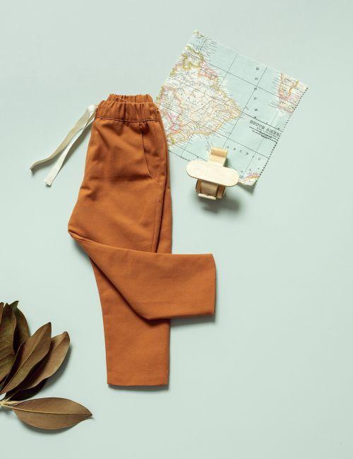 Pantalón Básico Canela
