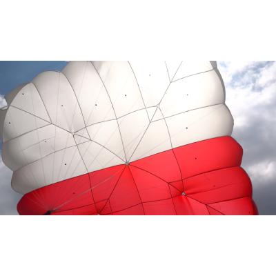 Paracaídas cuadrado Fluid Light Biplaza (<220 Kg.)