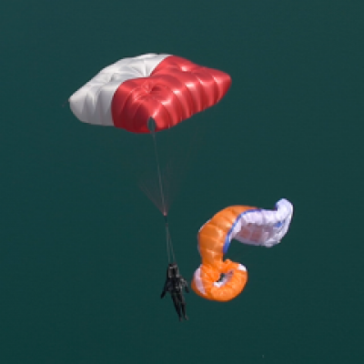 Paracaídas cuadrado Fluid Light S (<90 KG.)