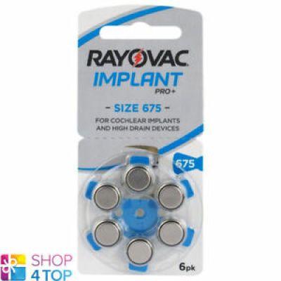 Pilas rayovac para implantes