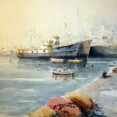 Puerto de Marín - 76x56