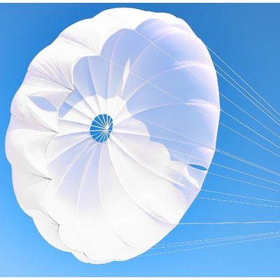 Revisión y plegado de paracaídas de emergencia redondo tipo PDA