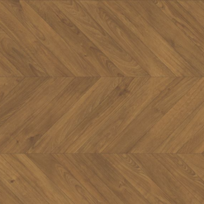 Roble marron chevron