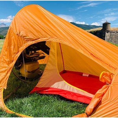 Tienda de camping paramotor