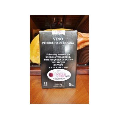 Vallarin bodegas box 5 litros roble