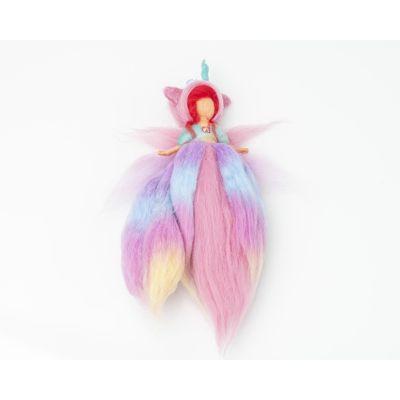 Hada Unicornio Colores Pastel