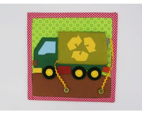 Aprende a reciclar con el camión de la basura (ACTIVIDAD DOBLE)