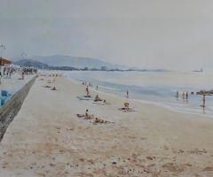 Playa de Samil - Vigo 76x56