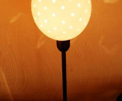 Lámpara huevos avestruz 2