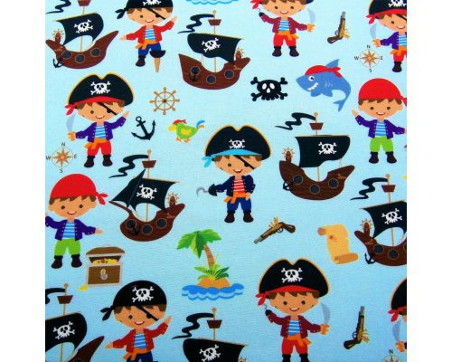 Libro Sensorial Hecho. Pirata Malapata