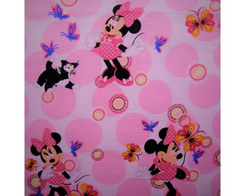 Libro Sensorial Hecho. Minnie Mousse.