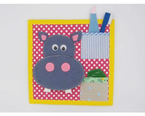 Limpia al hipopotamo