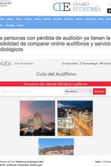 Lanzamiento Guía del Audífono en Europa News