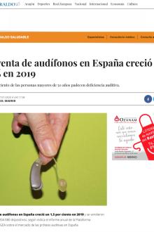 Informe sector Audífonos en El Heraldo