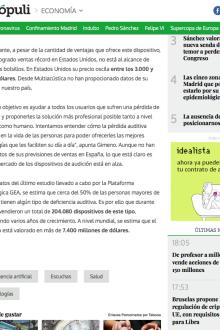 Informe sector Audífonos en Vozpopuli