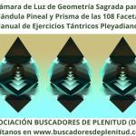Cámara de Luz de Geometría Sagrada Pineal y Prisma 108 Facetas - Ejercicios Tántricos Pleyadianos 15